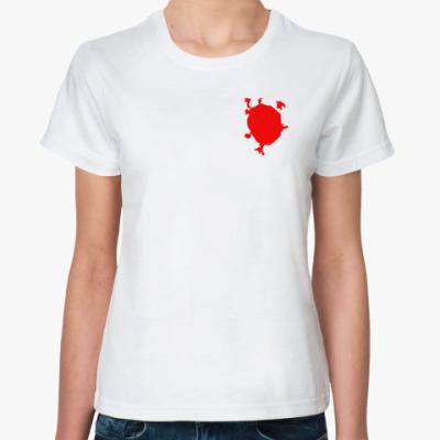 Классическая футболка Красная Москва
