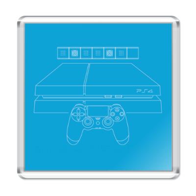 Магнит PlayStation