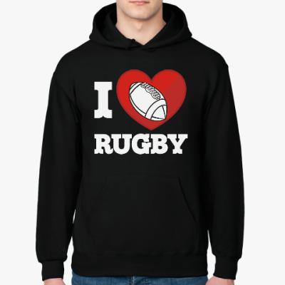 Толстовка худи Регби Rugby Мяч для Регби
