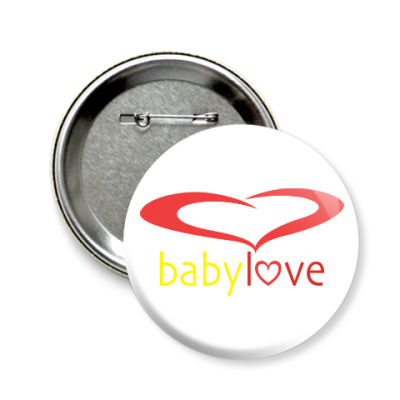 Значок 58мм Baby Love