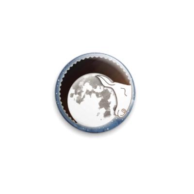 Значок 25мм Лунный Баран