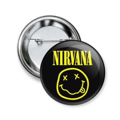 Значок 50мм Nirvana
