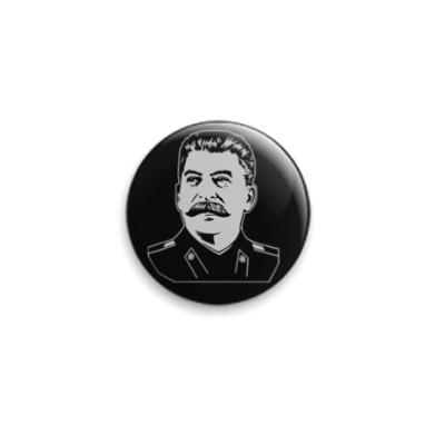 Значок 25мм Сталин