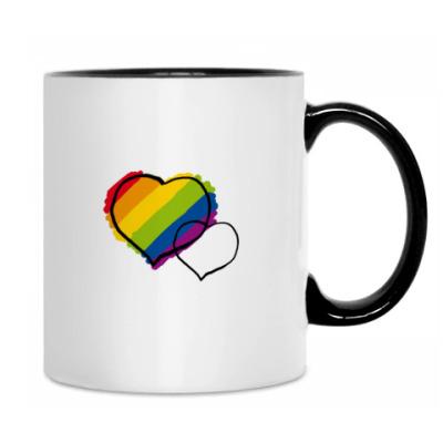 'Rainbow hearts'