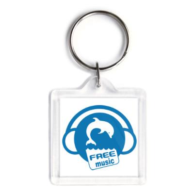 Брелок Free Music