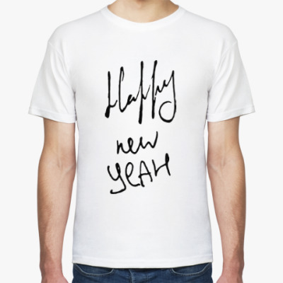 Футболка Happy new yeah!