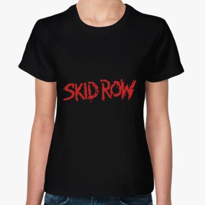 Женская футболка Skid Row Жен футболка (чёр)