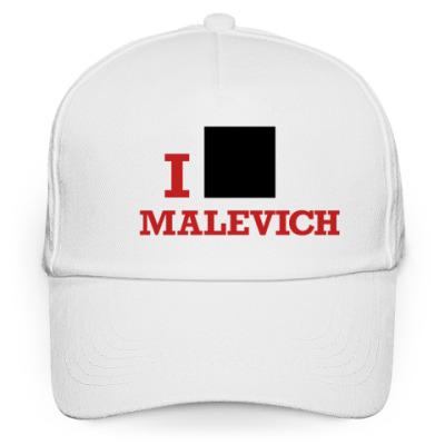 Кепка бейсболка Бейсболка Malevich белая кр.