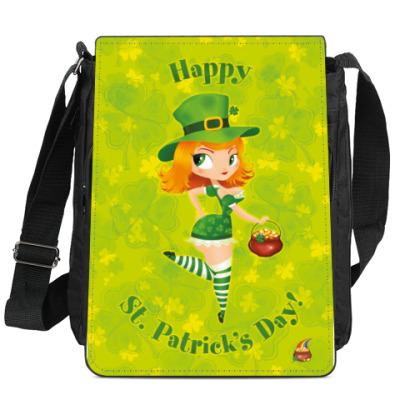 Сумка-планшет День Святого Патрика!