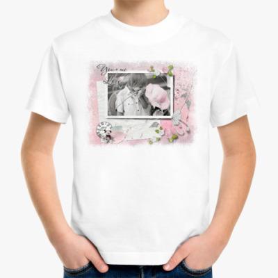 Детская футболка Нежность
