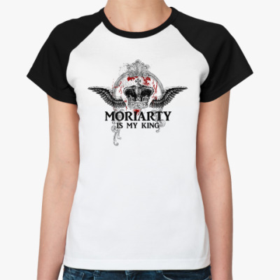 Женская футболка реглан Moriarty