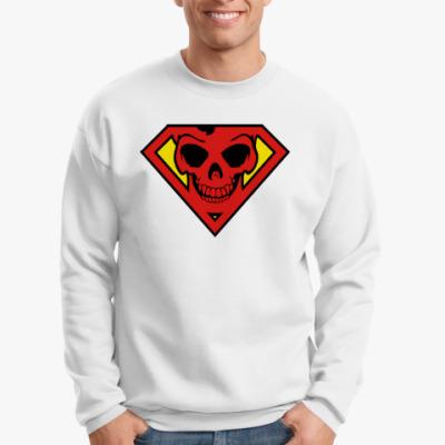 Свитшот Skull Superman