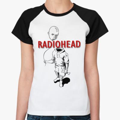 Женская футболка реглан Radiohead