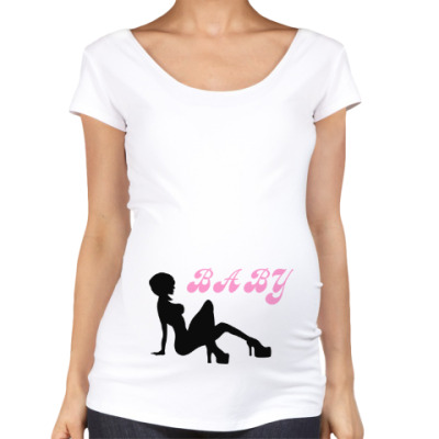 Футболка для беременных Baby