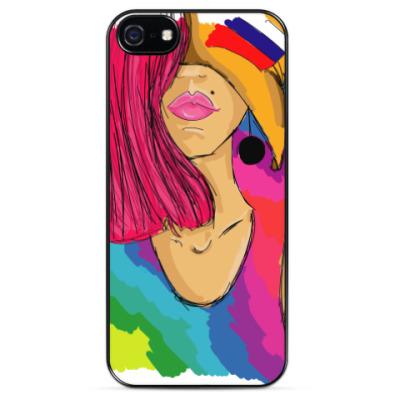 Чехол для iPhone Девушка (лето)