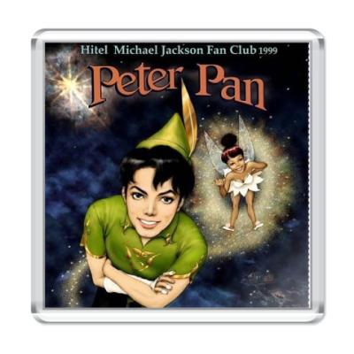 Магнит  М. Джексон Peter Pan