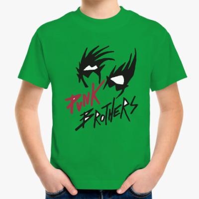 Детская футболка Братья панки