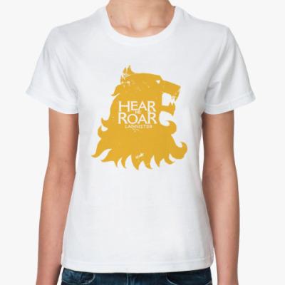 Классическая футболка Lannister, Game Of Throne