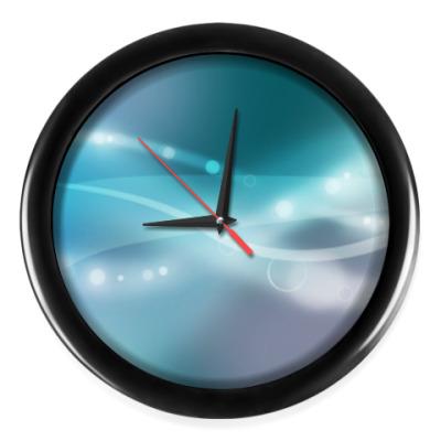 Настенные часы Абстракция Полосы