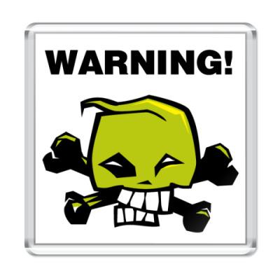 Магнит   warning2