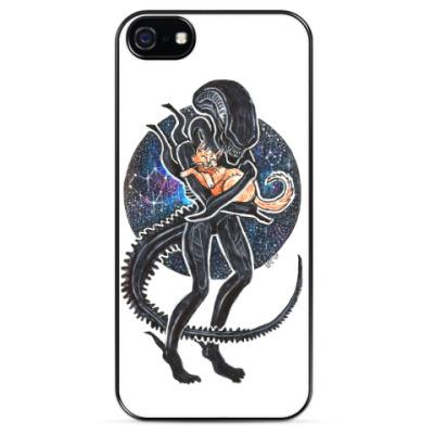 Чехол для iPhone Чужой и Кот Alien 1979