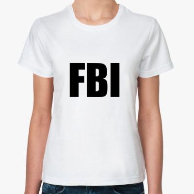 Классическая футболка FBI