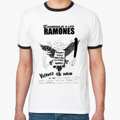 Футболка Ringer-T Los Ramones
