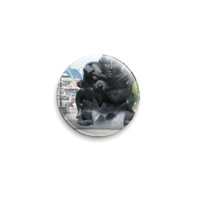 Значок 25мм  25 мм Gateshead Idol