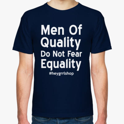 Футболка Do Not Fear Equality унисекс