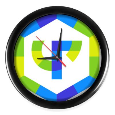 Настенные часы Часы (черные стрелки, без цифр