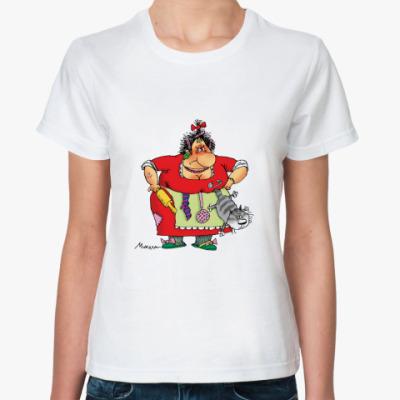 Классическая футболка КОРОЧЕ