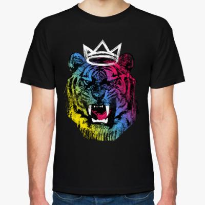 Футболка Тигр в короне