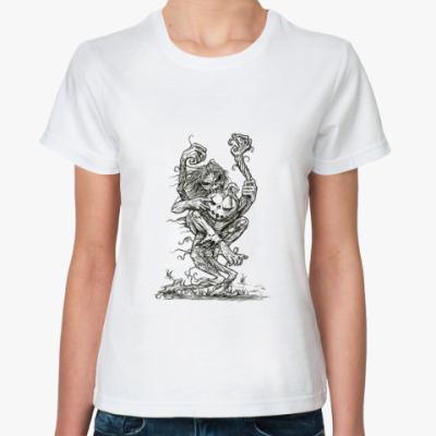 Классическая футболка «Eddie VS Pumpkin»