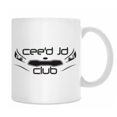 Кружка белая CEED JD CLUB