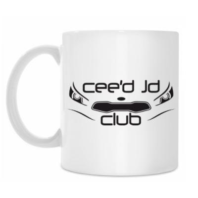 Кружка Кружка белая CEED JD CLUB