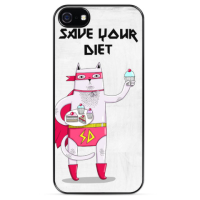 Чехол для iPhone Save your diet