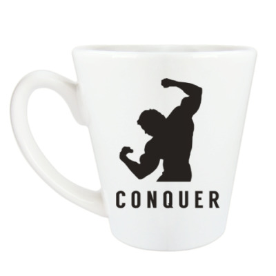 Чашка Латте Побеждать