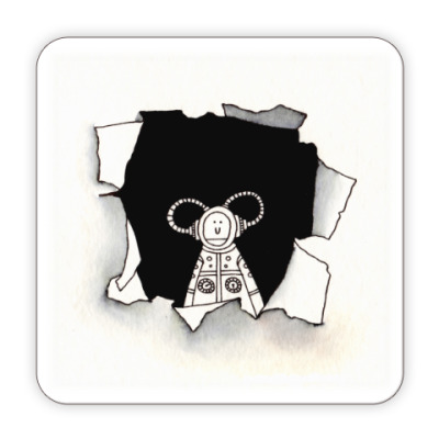 Костер (подставка под кружку) Black Hole