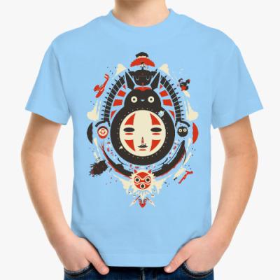 Детская футболка Фильмы Мияздаки