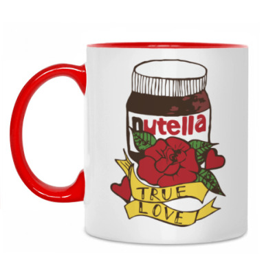 Кружка Nutella Нутелла Шоколад