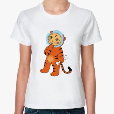 Классическая футболка  «Тигрёнок»