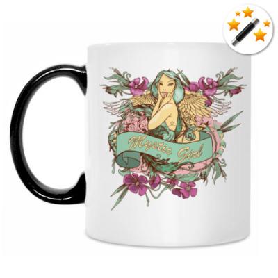 Кружка-хамелеон Волшебная девушка
