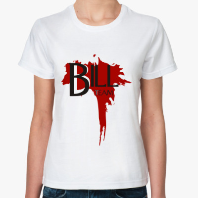 Классическая футболка  'Bill Team'
