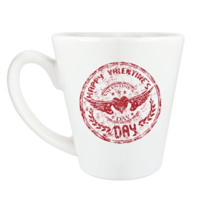 Чашка Латте Happy day