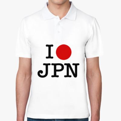 Рубашка поло I love Japan