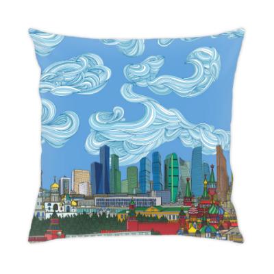 Подушка Москва-Сити Skyline