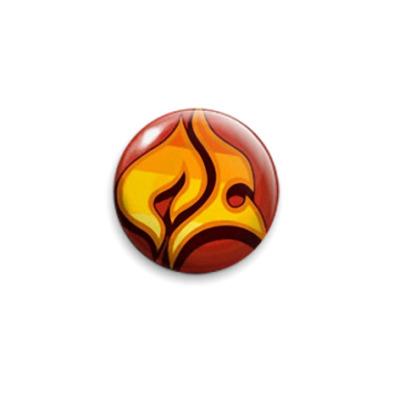Значок 25мм  TWEWY (fire)