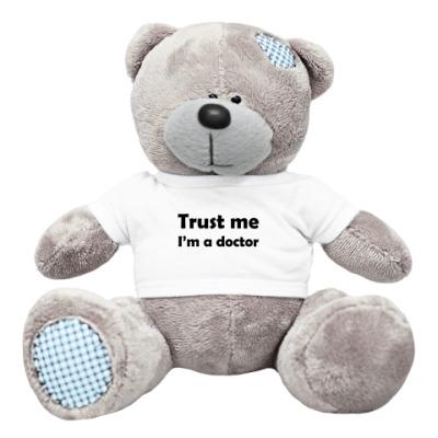 Плюшевый мишка Тедди Trust me I'm a doctor