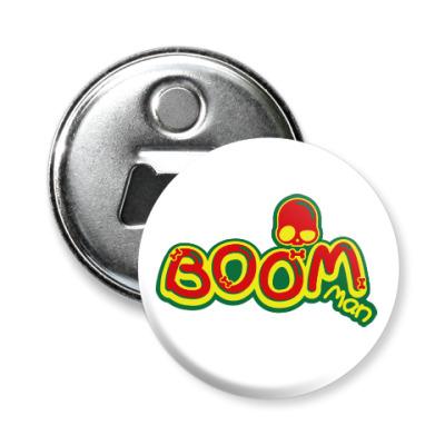Магнит-открывашка Boom Man