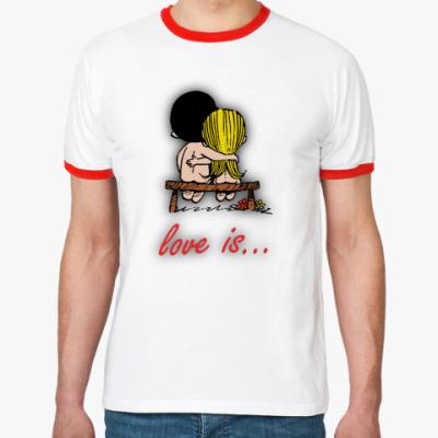Футболка Ringer-T love is